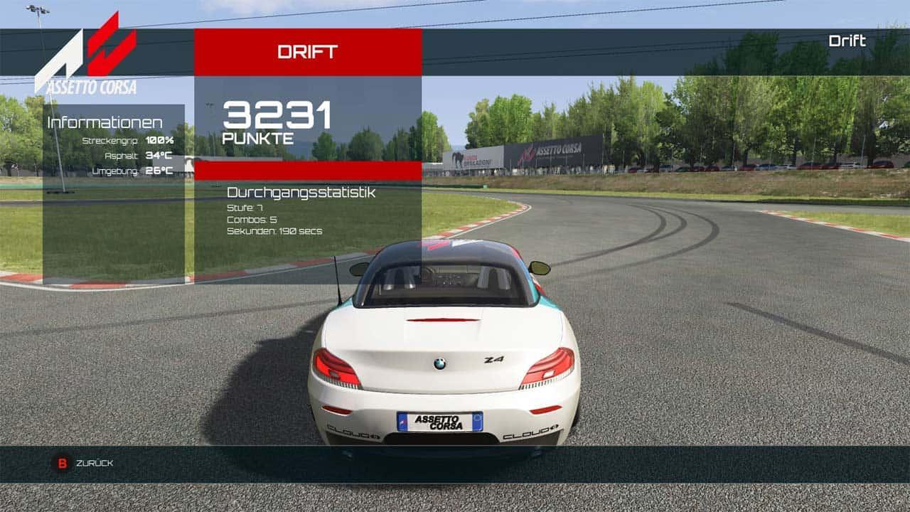 Assetto Corsa Drift