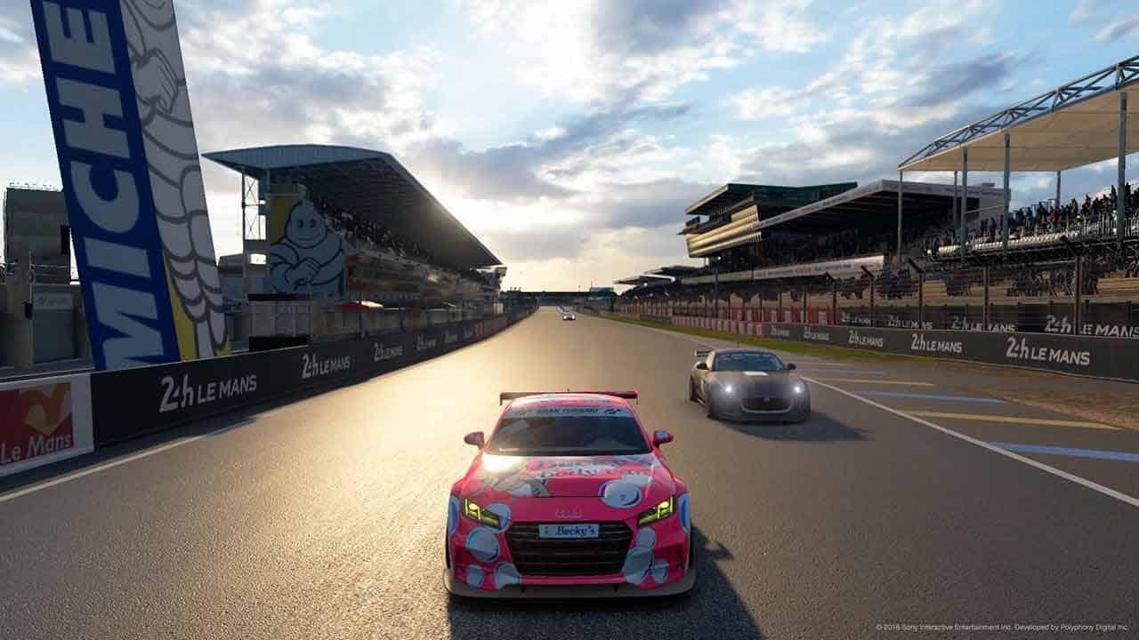 Grand Turismo Sport Test
